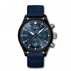 IWC de aviador Cronografo Edition Azul Angels