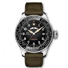 IWC de aviador Timezoner Spitfire Edition The Longest Flight