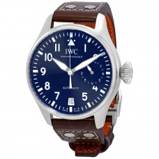 IWC grand de aviadors Le Petit Prince Automatica Azul Dial para hombre