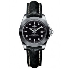 Breitling Galactic 32 Sleek Edition Acero inoxidable / Trofeo Diamante negro / Sahara (W7133012 / BF63 / 208X / A14BA.1) Réplicas