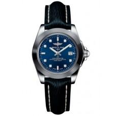 Breitling Galactic 32 Sleek Edition Acero inoxidable / Horizon Azul Diamond / Sahara (W7133012 / C966 / 210X / A14BA.1) Réplicas