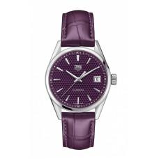TAG Heuer Carrera Ladies Quartz Purple Marcar para mujer WBK1314.FC8 Réplicas
