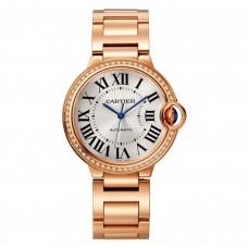 Cartier Ballon Bleu Automatica Viento propio WJBB0036 para mujer