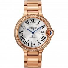 Cartier Ballon Bleu Automatica Viento propio WJBB0038 para mujer