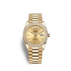 Rolex Day-Date 36 oro amarillo de 18 quilates M128348RBR-0026 Réplicas