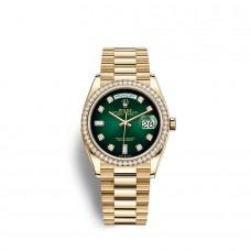 Rolex Day-Date 36 oro amarillo de 18 quilates M128348RBR-0035 Réplicas