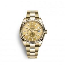 Rolex Sky-Dweller oro amarillo de 18 quilates M326938-0003 Réplicas