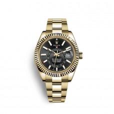 Rolex Sky-Dweller oro amarillo de 18 quilates M326938-0004 Réplicas