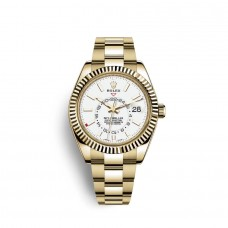 Rolex Sky-Dweller oro amarillo de 18 quilates M326938-0005 Réplicas