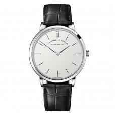 A.Lange&Sohne Saxonia minces Manuel viento hombres Reloj replicas 211.026