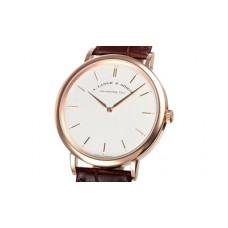 A.Lange&Sohne Saxonia minces Manuel viento hombres Reloj replicas 211.032