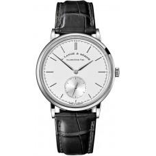 A.Lange&Sohne Saxonia viento Manuel 37mm Reloj hombre replicas 216.026