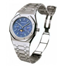 Replicas de Audemars Piguet Royal Oak Day-Date Moonphase acero inoxidable 36mm