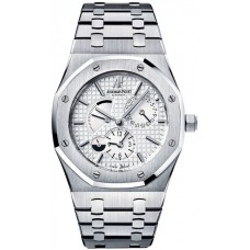 Replicas de Audemars Piguet Royal Oak Dual Time reserva de marcha reloj