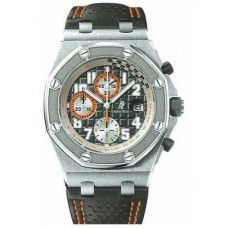 Replicas de Audemars Piguet Royal Oak Grey Dial Cronógrafo hombres reloj
