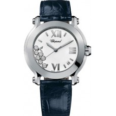Replicas Reloj Chopard Happy Sport Redondo Cuarzo 36mm Senora 278475-3001