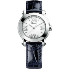 Replicas Reloj Chopard Happy Sport Redondo Cuarzo 30mm Senora 278509-3001