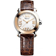 Replicas Reloj Chopard Happy Sport Redondo Cuarzo 30mm Senora 278509-6001