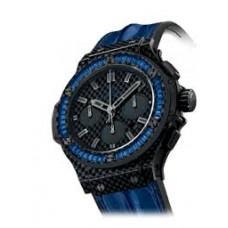 Replicas de Hublot Big Bang Carbon Bezel Baguette hombres reloj