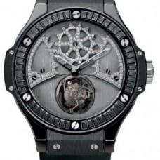 Replicas de Hublot Big Bang Bat Bang negro Carat hombres reloj