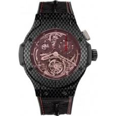 Replicas de Hublot Big Bang Chrono Tourbillon Ferrari hombres reloj