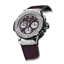 Replicas de Hublot Big Bang Purple Jeans Diamonds hombres reloj