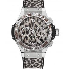 Replicas de Hublot Big Bang Steel Snow Leopard reloj