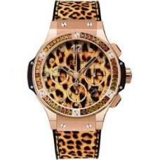 Replicas de Hublot Big Bang Chronograph Leopard Dial Unisex reloj