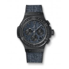 Hublot Big Bang Jeans Ceramic Black Diamonds 341.CX.2740.NR.1200.JEANS Réplicas