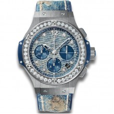 Hublot Big Bang Jeans Steel Diamonds 341.SL.2770.NR.1204.JEANS Réplicas
