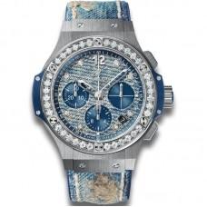 Hublot Big Bang Jeans Steel Diamonds 341.SL.2770.NR.1204.JEANS Réplicas