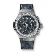 Hublot Big Bang Jeans Steel Diamonds 341.SX.2770.NR.1204.JEANS Réplicas