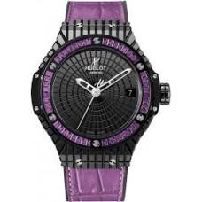 Replicas de Hublot Big Bang Tutti Frutti Purple Caviar senoras reloj