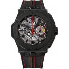 Replicas de Hublot Big Bang Ferrari negro Ceramic 45 mm reloj
