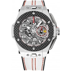 Hublot Big Bang Ferrari White Ceramic Carbon 401.HQ.0121.VR Réplicas