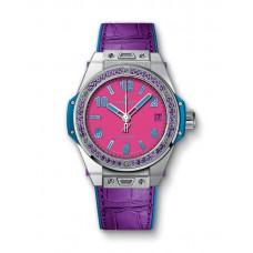 Hublot Big Bang One Click Pop Art Steel Purple 465.SV.7379.LR.1205.POP16 Réplicas