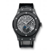 Hublot Classic Fusion Aerofusion Moonphase Black Magic 517.CX.0170.LR Réplicas