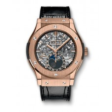 Hublot Classic Fusion Aerofusion Moonphase King Gold 517.OX.0180.LR Réplicas