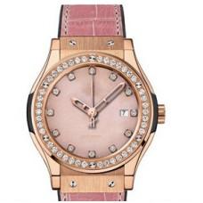 Replicas de Hublot Classic Fusion Stone senoras reloj