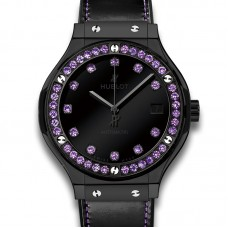 Hublot Classic Fusion Shiny Ceramic Purple 565.CX.1210.VR.1205 Réplicas