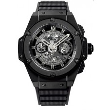 Replicas de Hublot King Power Unico All negro