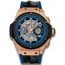 Hublot King Power Unico Gold y Blue 701.OQ.0119.HR Réplicas