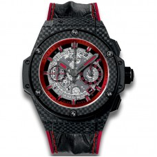 Réplicas Hublot King Power Unico Carbon y Red 701.QX.0113.HR