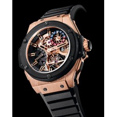 Replicas de Hublot King Power Tourbillon GMT hombres reloj