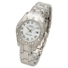 Rolex Lady-Datejust Pearlmaster reloj de replicas 80319-1