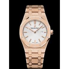 Audemars Piguet Royal Oak Frosted Gold reloj 67653OR.GG.1263OR.01  Replicas
