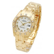 Rolex Lady-Datejust Pearlmaster reloj de replicas 80318-2