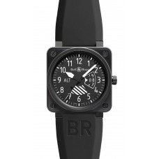 Réplica Bell & Ross BR 01 Altimeter Flight Intruments hombres reloj
