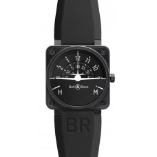 Réplica Bell & Ross BR 01 Turn Coordinator Flight Intruments hombres reloj