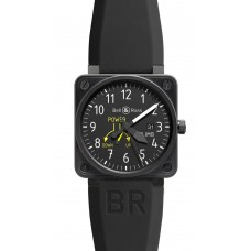 Réplica Bell & Ross BR 01-97 Climb Flight Intruments hombres reloj
